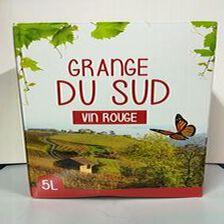 BIB GRANGE DU SUD ROUGE 5L