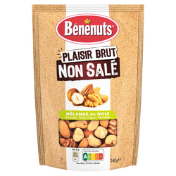 Plaisir brut mix noix grillées non salées BENENUTS, 140g