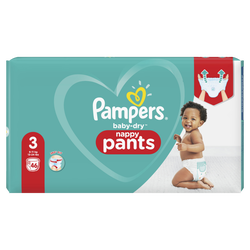 Couches baby dry pants PAMPERS géant taille 3 x46