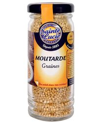 MOUTARDE GRAINES Flacon 65g