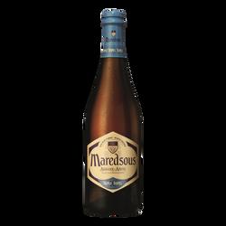 Bière/Abbaye blonde Belge MAREDSOUS,  triple 10° bouteille de 75cl