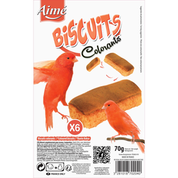 Biscuits colorants AIME, x6 70g