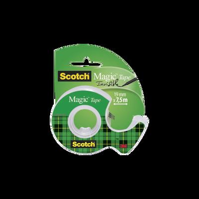 Dévidoir avec adhésif Magic SCOTCH, rouleau de 7,5mx19mm