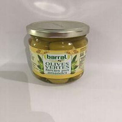 Olives Vertes farcies aux amandes BARRAL