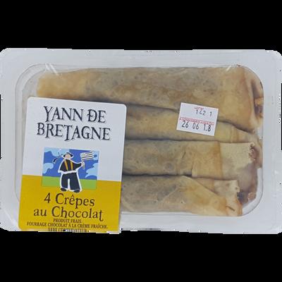 Crêpe chocolat, 4 pièces, 400g