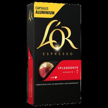 Maison du Café Café Capsules L'or Espresso Splendente X10