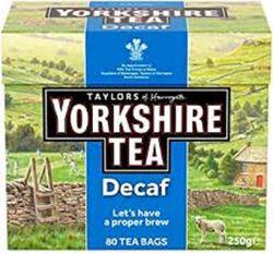 TAYLORS YORKSHIRE TEA*80 250G
