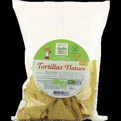 Tortillas de maïs nature sans gluten bio JARDIN BIO 125g