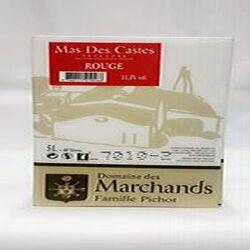 DOMAINE DES  MARCHANDS MAS DES CASTES  ROUGE 5L 11,5% vol