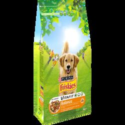 Croquettes pour chien adulte au poulet et légumes Vitafit Balance FRISKIES, 4kg