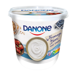 Fromage blanc nature 3,2% mg DANONE, 825g
