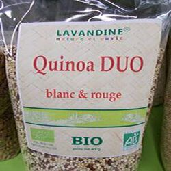 quinoa duo bio 400g