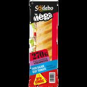 Sodeb'O Sandwich Le Méga, Baguette Viennoise, Thon ,oeuf, Et Sauce Cocktail Sodebo, 270g
