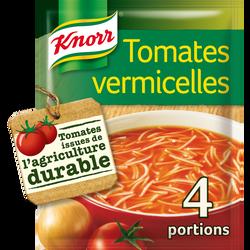 Soupe à la tomates et aux vermicelles KNORR,  sachet de 67g