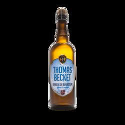 Bière blanche THOMAS BECKET 4.1°, bouteille de 75cl