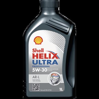 Huile 5W30 pour moteurs diesel Hélix Ultra professional AR-L SHELL,bidon de 1l