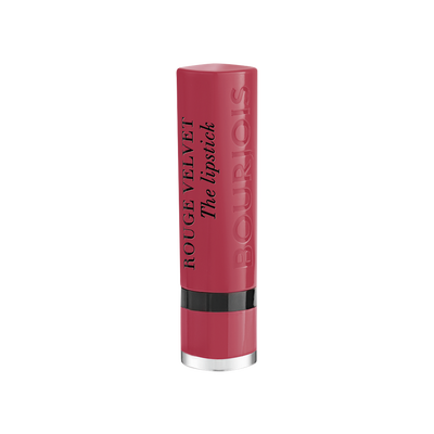 Rouge à lèvres velvet 004 hip hip pink nu BOURJOIS