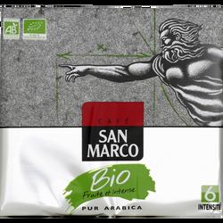 Café moulu bio SAN MARCO paquet 2x250g