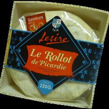 Spécialité fromagère au lait pasteurisée Rollot de Picardie LESIRE, 27% de MG, 230g