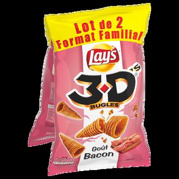 Bénénuts 3 D's Bugles Bacon Benenuts, 2x150g