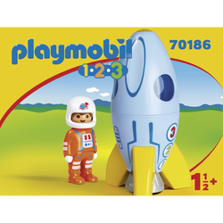 FUSEE/ASTRONAUTE PLAYMOBIL