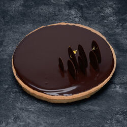 Tarte chocolat 6/8 Parts