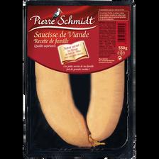 Pierre Schmidt Saucisse De Viande , 550g