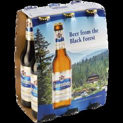 Bière premium lager FÜRSTENBERG, 5,3°, 6 bouteilles de 33cl