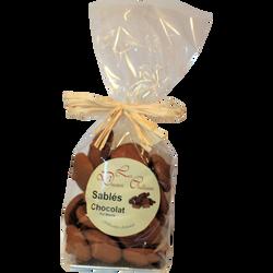 Sablés chocolat LES DOUCEURS CHATTOISES, sachet 250g