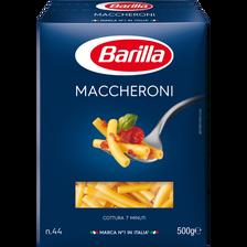Macaroni BARILLA, boîte de 500g