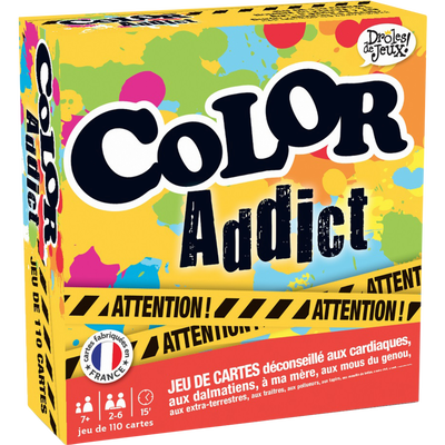 COLOR ADDICT DROLES DE JEUX