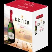 Kriter Vin Mousseux Brut Kriter, 6x75cl