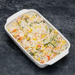 Salade de riz surimi