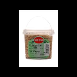 Cacahuétes grillées salées PLIS PLAS, pot de 450g