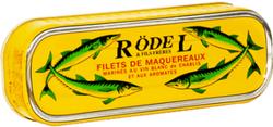 FILETS MAQUEREAU CHABLIS 1/4 176G - RODEL
