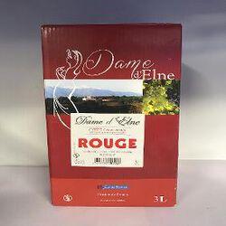 DAME D'ELNE ROUGE BIB 3L