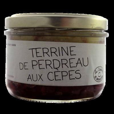 Terrine de perdreau aux cèpes LA CUISINE D'ANNETTE, 200g