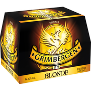 Grimbergen Bière Blonde Grimbergen, 6,7°, Pack De 12x25cl