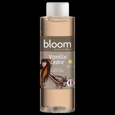 Recharge pour diffuseur de parfum à froid DEVINEAU, 150ml coloré, vanille cèdre