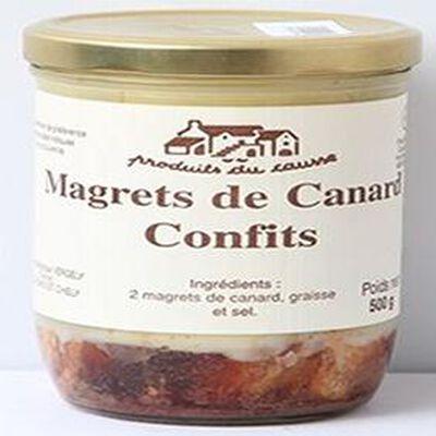 Magrets de Canard Confits, Produits du causse, 500g
