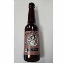 Bière brune Artisanale Sarthoise Jolicoeur 5° 33cl
