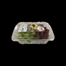Raisin mixte blanc superior et rouge ralli, catégorie 1, Espagne, barquette 500g