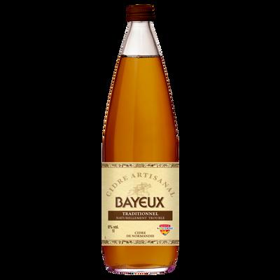 Cidre de table traditionnel BAYEUX, 6° bouteille 1l