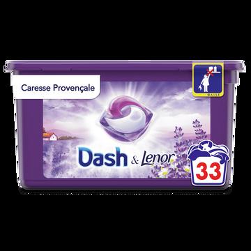 Dash Lessive Pods 2 En 1 Provencale Dash X33 Doses (828,3g)