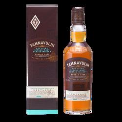 Whisky  of double cask TAMNAVULIN, 40°, bouteille de 70cl