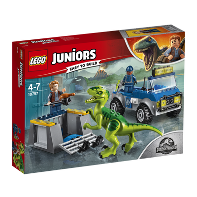 Le camion de secours des raptors LEGO Duplo