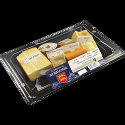 Assiette fromagère Sélection Normandie lait pasteurisé dès 22% de MG,315g