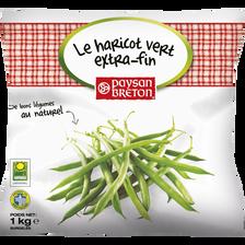 Haricot vert extra fin du Pays de Brocéliande PAYSAN BRETON, sachet de1kg