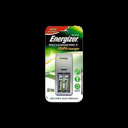 Chargeur Energizer miniature+, pile lr03/aaa, 2 unités