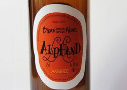 *BIERE AMBREE   75CL ALPHAND